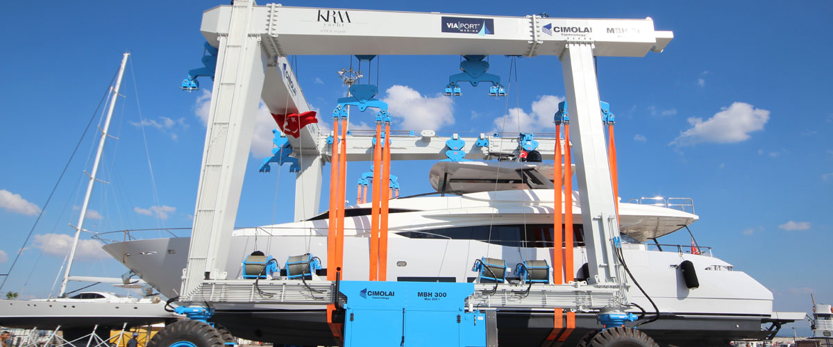 KRM delivered HOT LAB designed refit project ; M/Y Lara