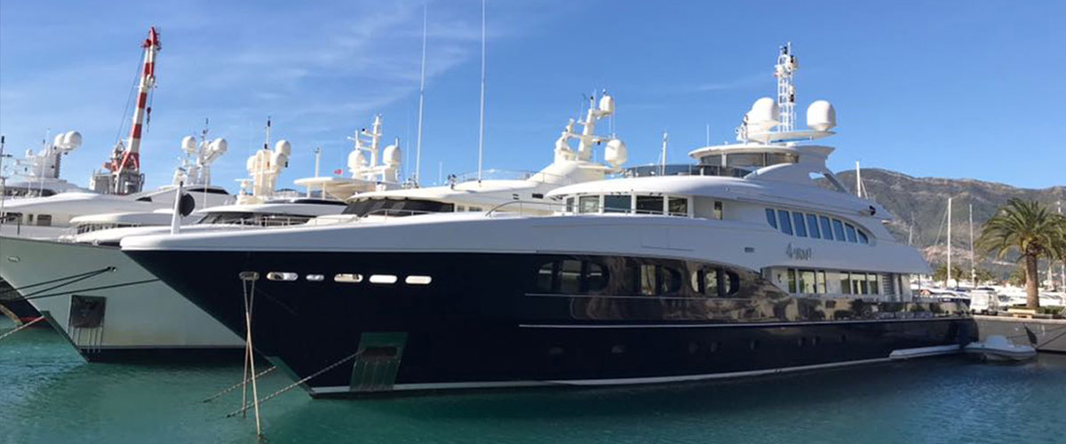 KRM's first project out of  Turkey;  47 meter M/Y 4YOU